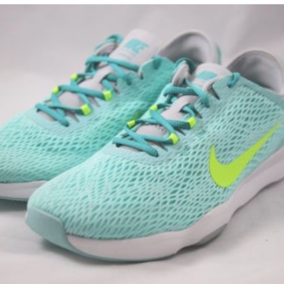 Nike Shoes Womens Zoom Fit Training Artisian Teal Poshmark
